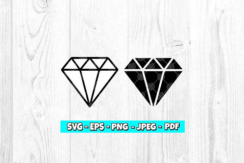 Diamond SVG (Digital Only)