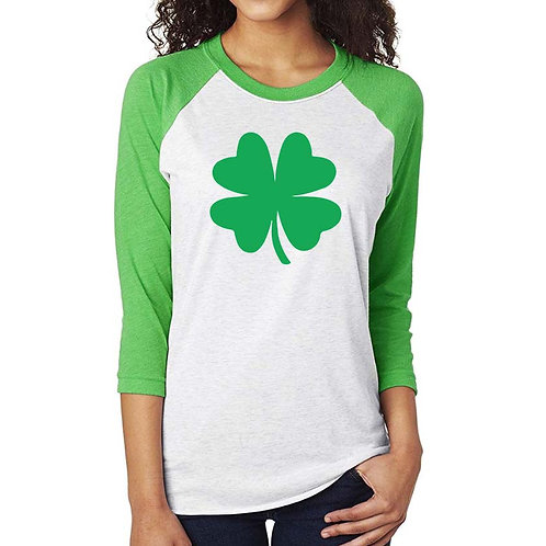 4 Leaf Clover Iron On | St Patrick's Day Iron On | Irish Iron on