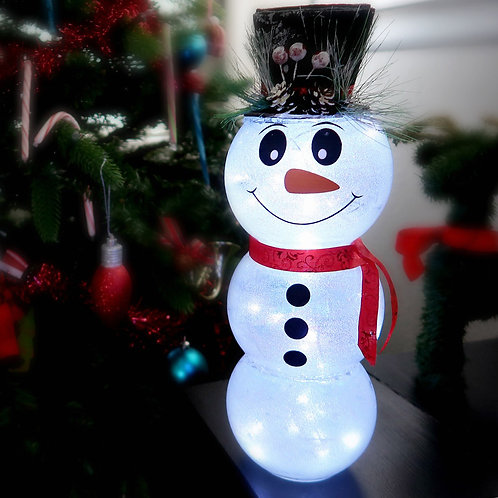 Snowman Face With Buttons | Christmas Decals