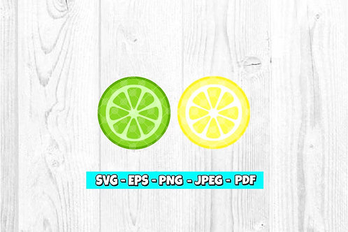 Lemon & Lime SVG (Digital Only)