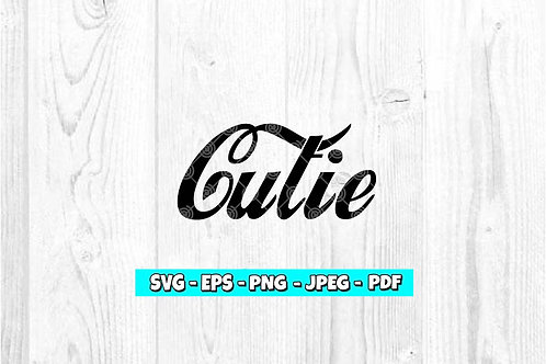 Cutie SVG (Digital Only)