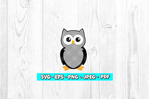 Owl SVG (Digital Only)