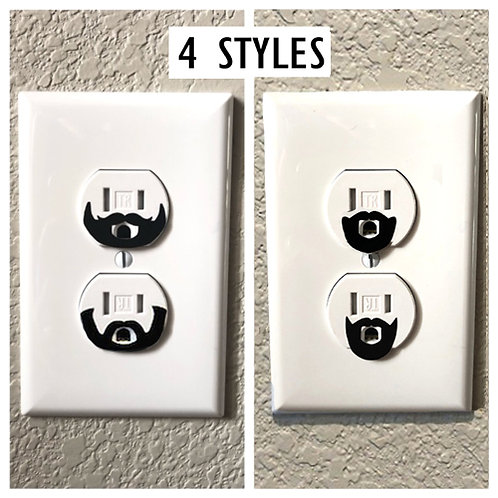Beard Or Goatee Outlet Decals  | Funny Decals | Outlet Decals | Home Décor