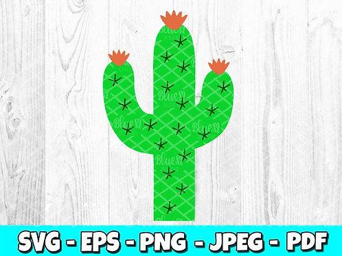 Cactus SVG (Digital Only)