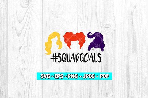#SQUADGOALS SVG