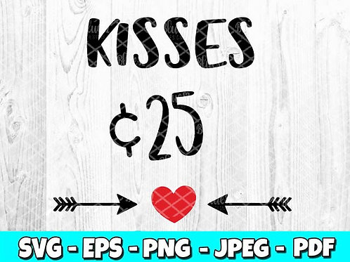 Kisses 25 | Valentines Day (Digital Only)