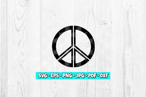 Peace Sign SVG | Love svg | Peaceful | Peace Symbol | 70's svg