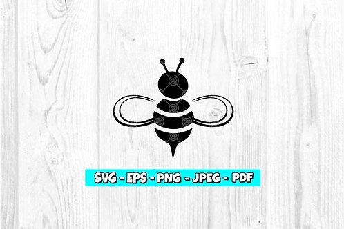 Bee SVG (Digital Only)