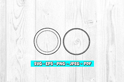 Circles SVG (Digital Only)