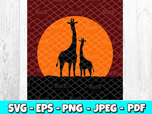 Giraffe SVG (Digital Only)