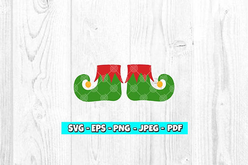 Elf Shoes SVG