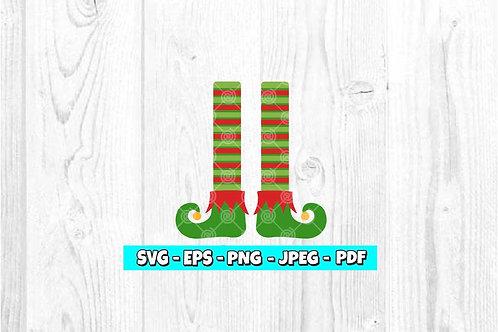 Elf Legs SVG