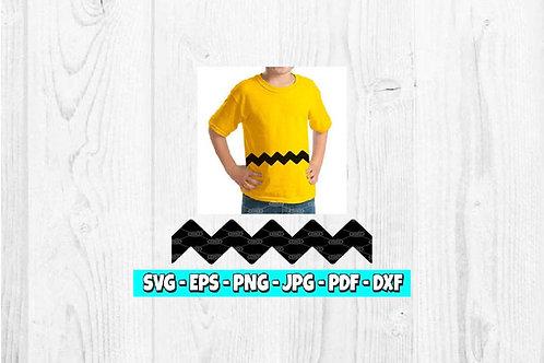 Zig Zag SVG | Charlie Brown svg | Shape svg | Line svg