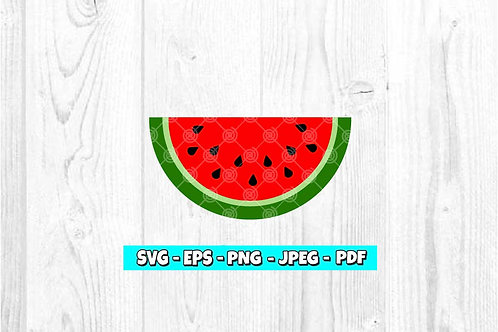 Watermelon SVG (Digital Only)