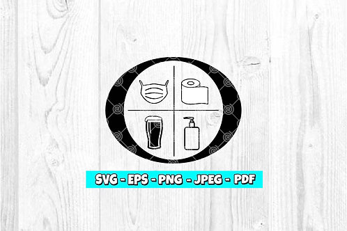 Ozark Quarantine Items SVG *Beer* (Digital Only)