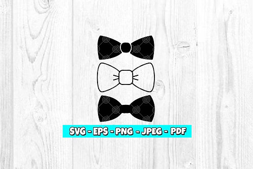 Bow Tie SVG  (Digital Only)
