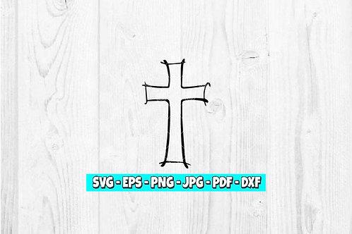 Cross SVG | Easter svg | Religious svg | Faith svg | Religion svg