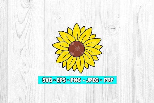 Sunflower SVG (Digital Only)