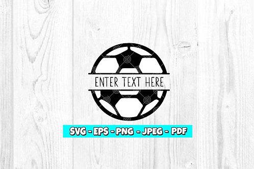 Soccer Ball - Custom SVG