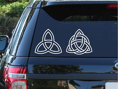 Celtic Knot Car Decal | St Patrick's Day | Truck Decal | Irish Decal
