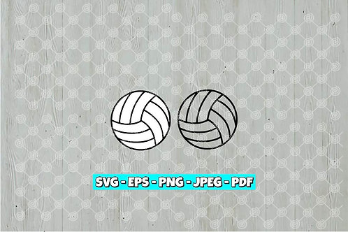 Vollyball SVG