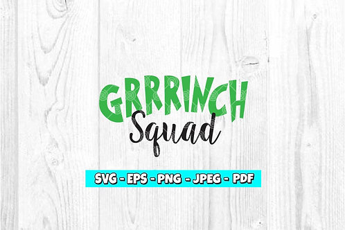 Grrrinch Squad SVG