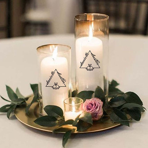Wedding Decal (Decal Only)