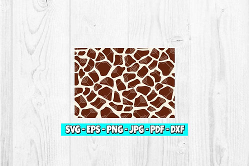 Giraffe Print SVG | Animal Print | Giraffe Pattern svg | Animal Clipart