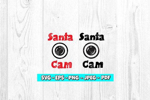 Santa Cam SVG (Style 3)