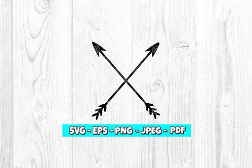 Arrows Crossed SVG (Digital Only)