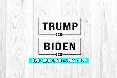 Biden Trump 2020 SVG | President SVG | Election SVG | Trump SVG | Biden SVG