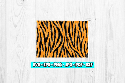 Tiger Print SVG | Animal Print | Tiger Pattern svg | Animal Clipart