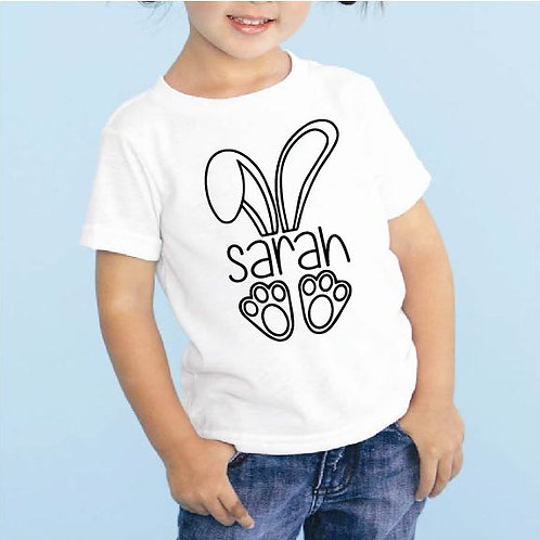 Custom Easter Bunny Decal | Personalized Name | Easter Bunny | Easter Iron On