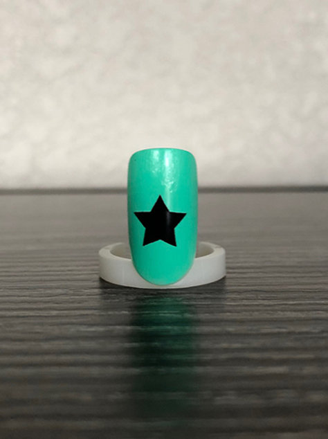 40 Star Nail Decals (3 sizes)