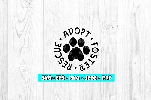 Adopt Rescue Foster (Digital Only)