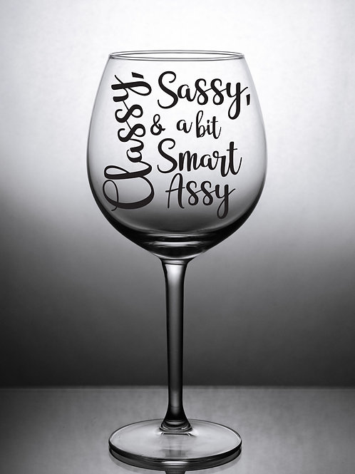 Classy Sassy & a bit Smart Assy (Decal Only)