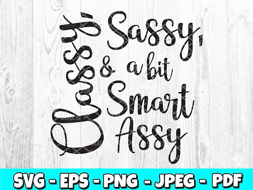 Classy Sassy & a bit Smart Assy (Digital Only)