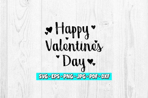 Happy Valentines Day SVG  | Heart SVG | Heart SVG | Vday SVG