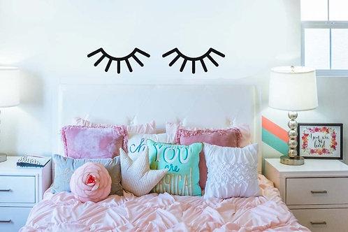 Eyelash Decal | Room Decor | Kids Room Decor | Decal For Girls