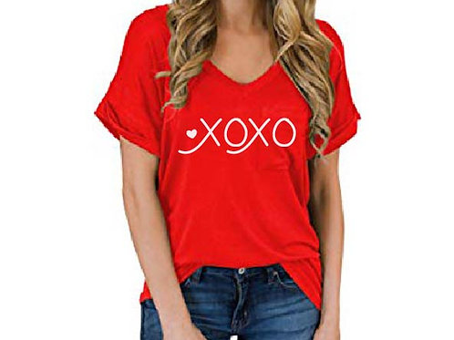 XOXO Iron On Decal