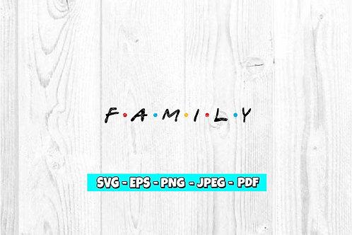 Family SVG (Digital Only)