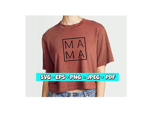 MAMA SVG *SIMPLE* (Digital File)