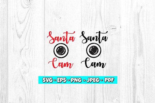 Santa Cam SVG (Style 1)