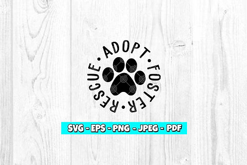 Adopt Rescue Foster *Style 2*
