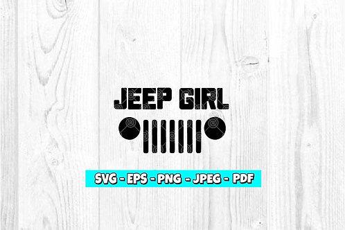 Jeep Girl *BOLD *SVG (Digital Only)