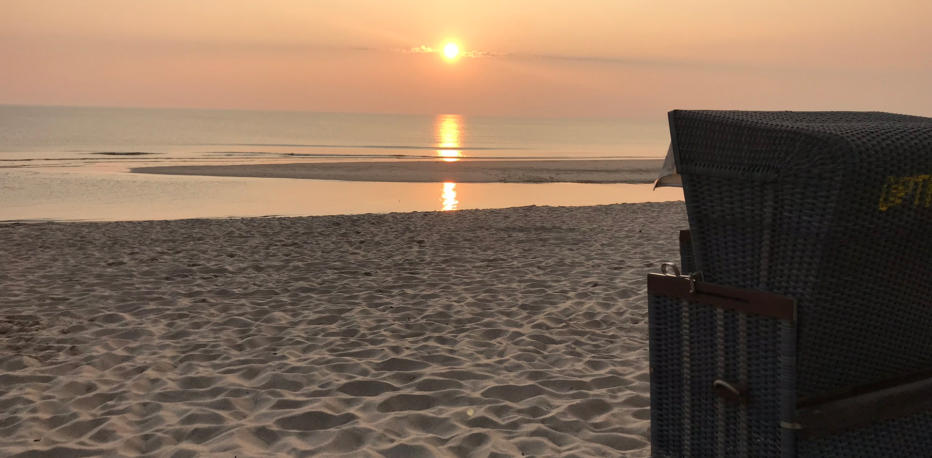Strandkorb an der Nordsee....