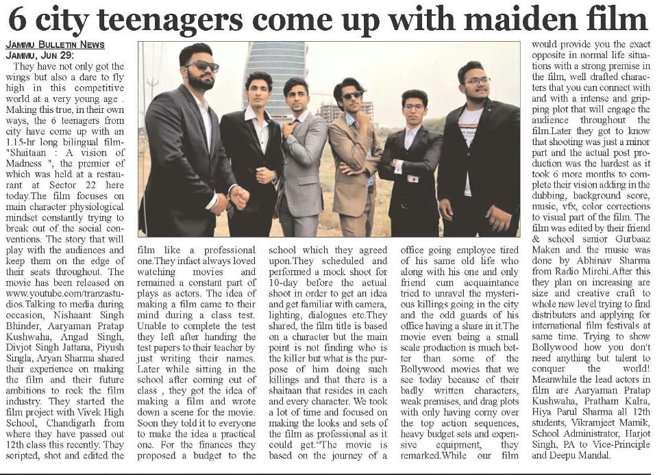Jammu Bulletin News