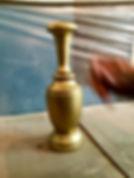 Ваза сделана из массива Карагача