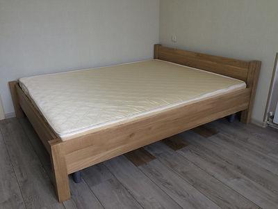 Кровать из массива Дуба, цвет натуральный
