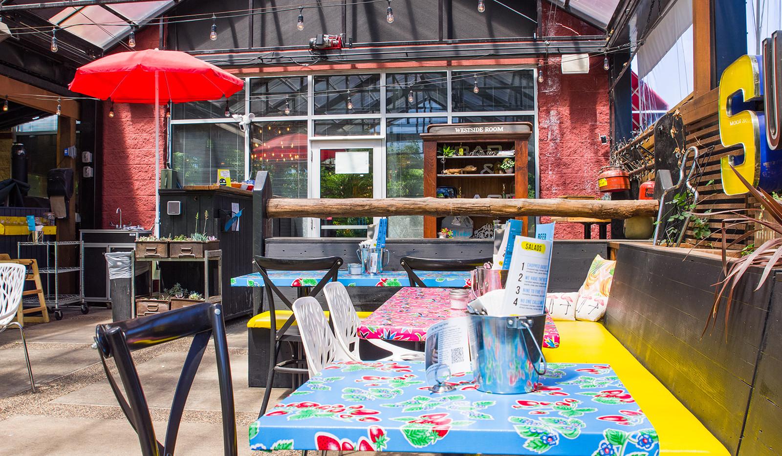 Hot Chip Burger Bar Outdoor Patio